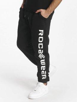 Rocawear Joggingbyxor Basic Fleece svart