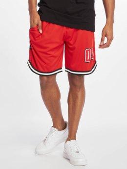 Rocawear Pantalón cortos Mesh rojo