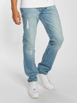 Rocawear Rovné Moletro Leather Patch modrá