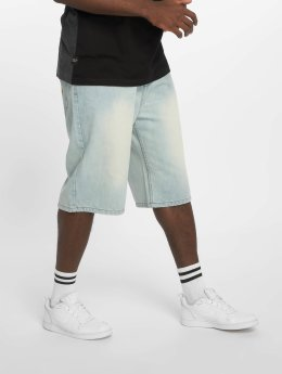 Rocawear FRI Baggy Fit Jeansshort   Lighter Blue Wash
