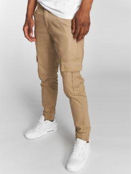 Rocawear Spodnie Chino/Cargo Cargo Fit bezowy