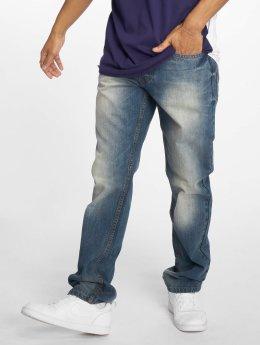 Rocawear Straight Fit Jeans TUE  modrý
