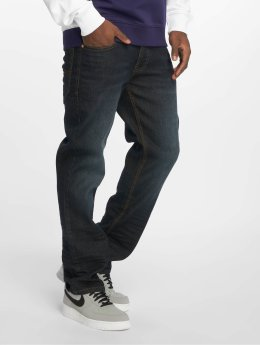 Rocawear Straight Fit Jeans TUE Relax Fit modrý