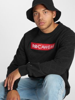 Rocawear Sweat & Pull Checked noir