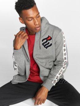 Rocawear Sweat capuche zippé Stripe gris