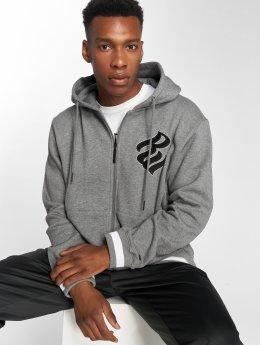 Rocawear Sweat capuche zippé Logo gris
