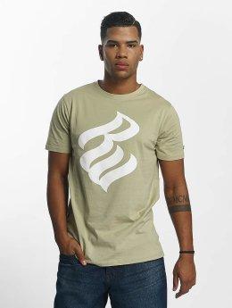 Rocawear T-paidat Logo khakiruskea