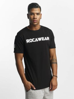 Rocawear T-paidat Color Block musta