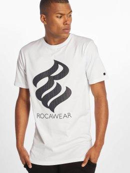 Rocawear T-Shirt Logo blanc
