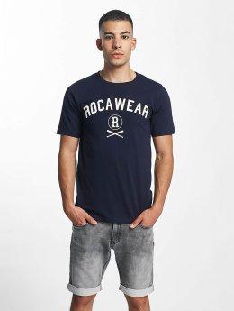 Rocawear t-shirt Logo blauw