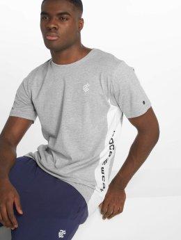 Rocawear T-Shirt Double Logo grau