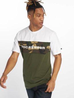 Rocawear T-Shirt Camo Block grün