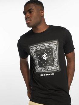 Rocawear T-Shirt Bandana noir