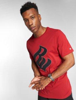 Rocawear T-Shirt Velvet Logo rouge