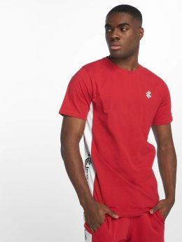 Rocawear T-Shirt Double Logo rouge
