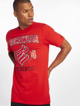 Rocawear T-Shirty Authentic  czerwony