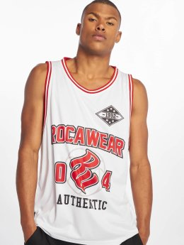 Rocawear Tank Tops Authentic белый