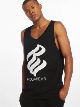 Rocawear Tank Tops Logo czarny