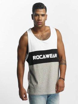 Rocawear Tank Tops Color Block hvid