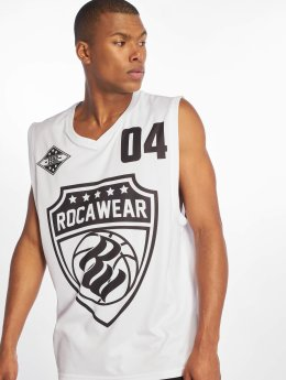 Rocawear Tank Tops Four hvid