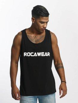 Rocawear Tank Tops Color Block musta