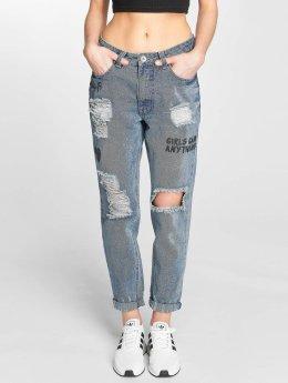 Rock Angel Boyfriend Jeans Boyfriend blå