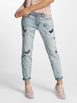 Rock Angel Jean large Rosie Badges bleu