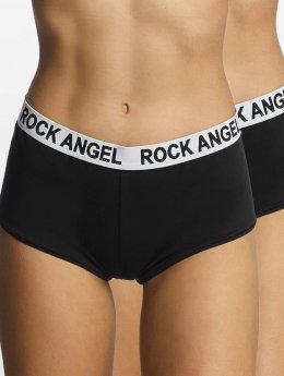 Rock Angel Ropa interior Double Pack Logo negro