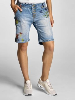 Rock Angel Shorts Alva Flowers blau