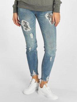 Rock Angel Skinny Jeans Amy blau