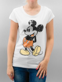 Rock Angel T-Shirt Mickey blanc