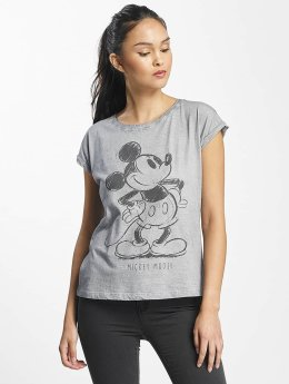 Rock Angel T-Shirt Mickey Mouse gray