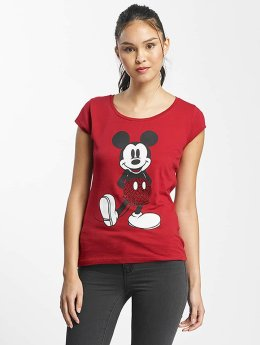 Rock Angel T-Shirt Mickey Mouse red