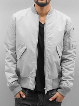 Schott NYC Bomber jacket Bomber silver colored