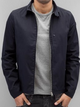 Schott NYC Lightweight Jacket Evans blue