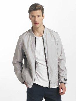 SHINE Original Johnson Bomber Jacket Stone Grey