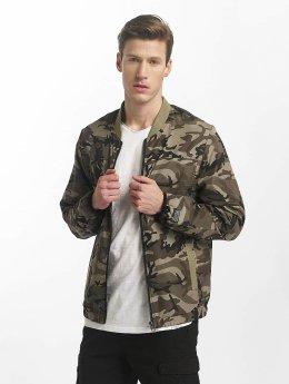 SHINE Original Bomberjacke Johnson camouflage