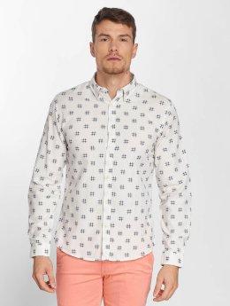 SHINE Original Camisa Napoleon  blanco
