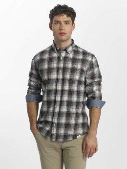 SHINE Original Camisa  Fernando Grunge Check gris