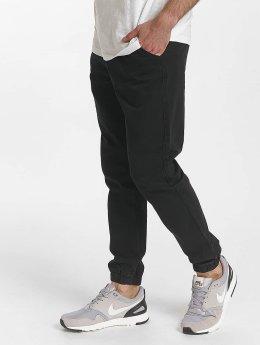 SHINE Original Chinot/Kangashousut Drop Crotch musta