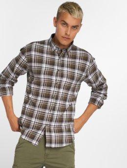 SHINE Original Hemd Check grün