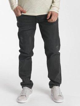 SHINE Original Jean coupe droite Wyatt noir