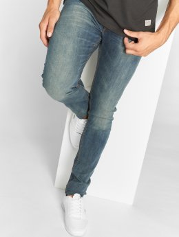 SHINE Original Jean large coupe droite Tapered bleu