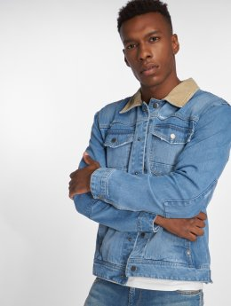 SHINE Original Jeansjacken Denim  blau