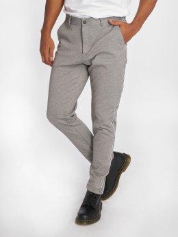 SHINE Original Látkové kalhoty Stripes šedá