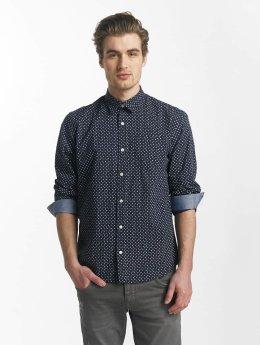 SHINE Original overhemd Fletcher Broken Star Printed Shirt blauw