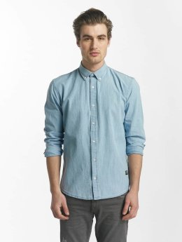 SHINE Original overhemd Original Julius Chambray blauw