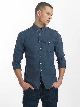 SHINE Original overhemd Cotton Mélange Otto Line blauw