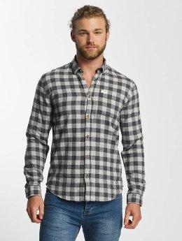 SHINE Original overhemd Checked Twill grijs