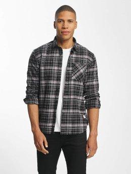 SHINE Original overhemd Luis Checked zwart